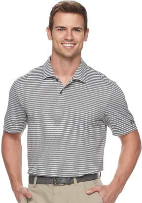 Equipment Fila Sport Golf Men's FILA SPORT GOLF Regular-Fit Pro Core Feeder-Striped Performance Polo