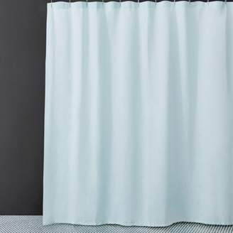 Water Works Waterworks Washed Linen Shower Curtain