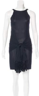 Chanel 2015 Knit Fringe Dress