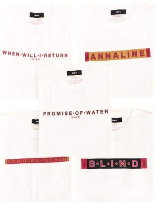 Yang Li Promise of Water 5x T-shirts