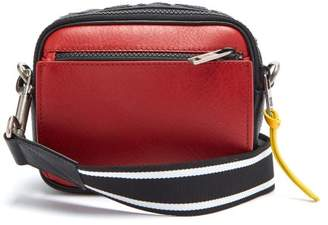 Givenchy Mc3 Leather Cross Body Bag - Mens - Black Red