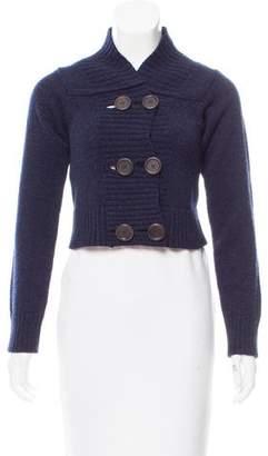 Chloé Cropped Wool Cardigan