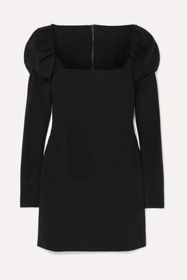 Philosophy di Lorenzo Serafini Stretch-crepe Mini Dress - Black