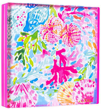 Lilly Pulitzer Neon Pink Acrylic Picture Frame