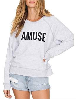 Amuse Society Iconic Pullover