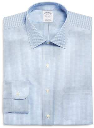 Brooks Brothers Gingham Classic Fit Dress Shirt