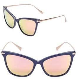 Cat Eye Jetsetter 55MM Sunglasses