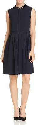 Elie Tahari Samiyah Lace Collar Shirt Dress - 100% Exclusive