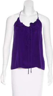 Alexander Wang Ruffled Silk Top