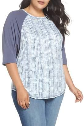 Caslon Raglan Sweatshirt (Plus Size)
