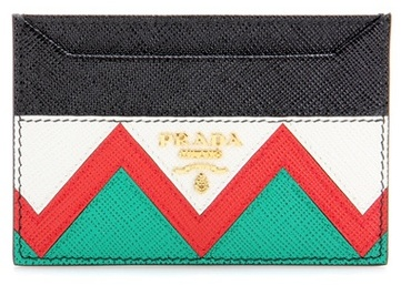 prada Prada Leather card holder