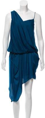 Helmut Lang Sleeveless Draped Dress