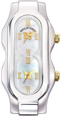 Philip Stein Teslar Stainless Steel Mini Signature Three-Hand Watch Head