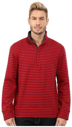 Nautica CVC Stripe 1/4 Zip Men's Clothing