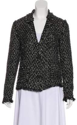 Lanvin Notch-Lapel Tweed Blazer
