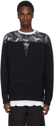 Marcelo Burlon County of Milan Black Camouflage Wing Sweatshirt