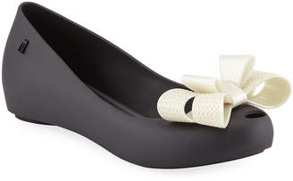 Melissa Shoes Ultragirl Sweet PVC Bow Flats