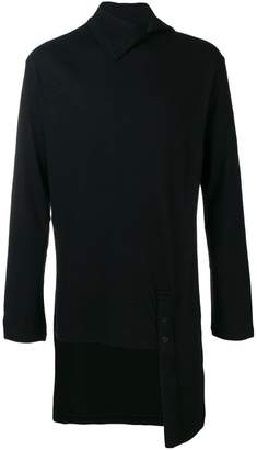 Yohji Yamamoto asymmetrical sweater