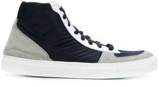 Stone Island V0024 high top trainers