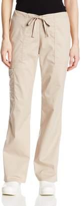 Cherokee Women's Tall Workwear Scrubs Core Stretch Drawstring Cargo Pant