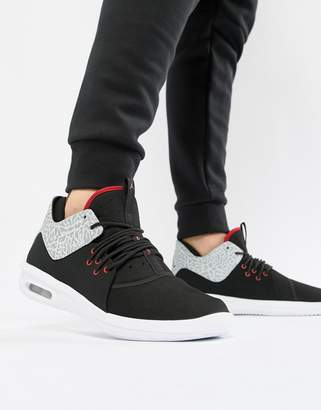 new concept fd128 e0983 at ASOS · Jordan Nike First Class Trainers In Black AJ7312-002