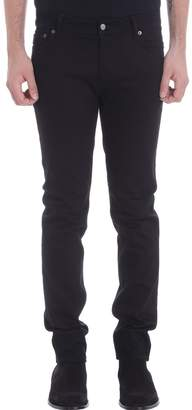 Acne Studios Black Denim Skinny Jeans