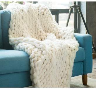Byourbed BYB Pure Australian Woolen Blanket - Chunky Knit (Natural)