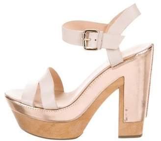 Diane von Furstenberg Platform Leather Sandals
