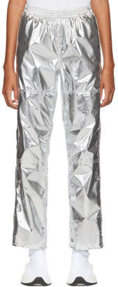 MM6 MAISON MARGIELA Silver Pull-On Lounge Pants