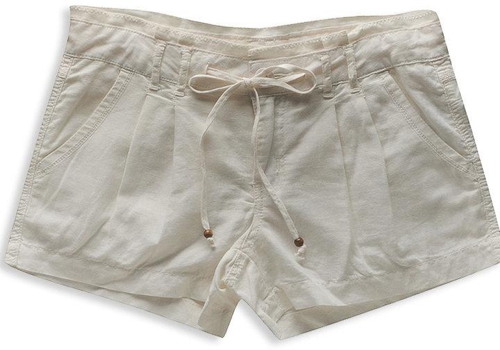 H81 Bead End Linen Short