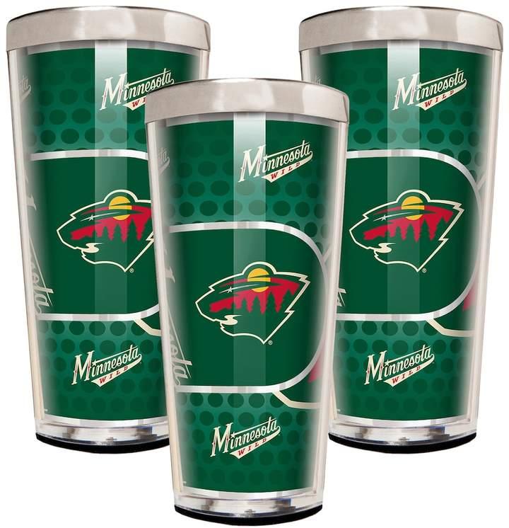 Minnesota Wild 3-Piece Shot Glass Set