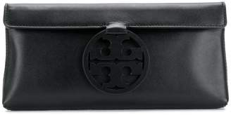 Tory Burch T-logo medallion clutch