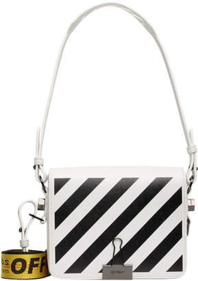 47a26a5f Off-White Off White Binder Clip Bag Diag White Black Yellow