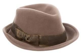 Eugenia Kim Felt Metallic-Trim Hat
