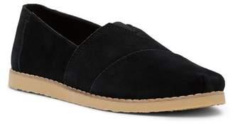 Toms Suede Slip-On Sneaker