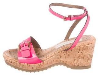 b35c6f240b Stella McCartney Vegan Semi-Wedge Platform Sandals