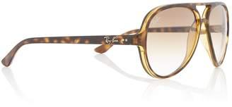 Ray-Ban Unisex RB4125 Cats 5000 Pilot Sunglasses