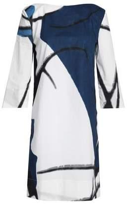 Marni Printed Cotton-Poplin Mini Dress
