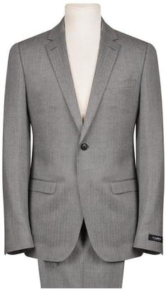 FLANNELS BLACK LABEL Herringbone Suit