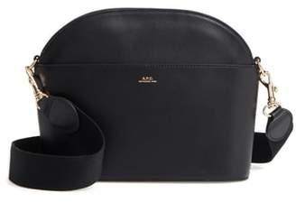 A.P.C. Gabrielle Leather Shoulder Bag