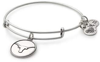 Alex and Ani Univeristy of Texas Logo Charm Wire Adjustable Bracelet