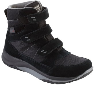 L.L. Bean L.L.Bean Men's Snow Sneakers, Mid Hook-and-Loop