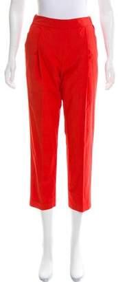 Cavallini Erika Cropped High-Rise Pants