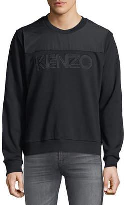 Kenzo Men's Logo-Applique Sweatshirt