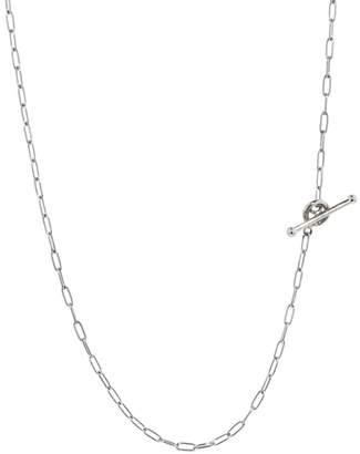 Cathy Waterman 18 Inch Fine Spanish Chain Necklace - Platinum