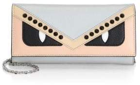 Fendi Monster Color Block Wallet-On-Chain