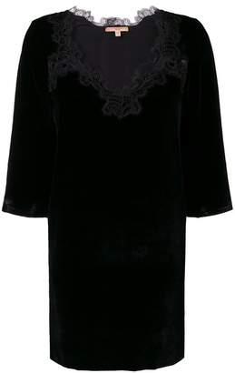 Ermanno Scervino lace embellished dress