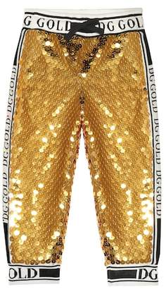 Dolce & Gabbana Sequinned trackpants