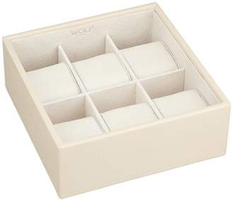 Wolf 309753 Stackable 6 Piece Watch Tray