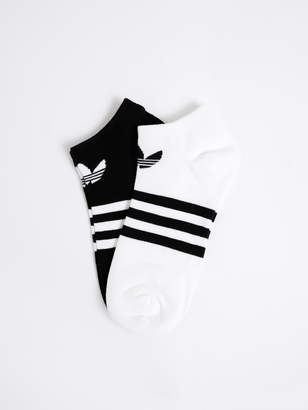 adidas Unisex Two Pack T Liner Socks